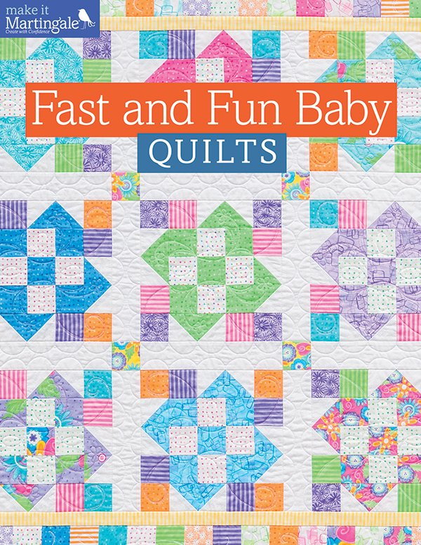 Fast And Fun Baby Quilts Softcover B1229t Martingale