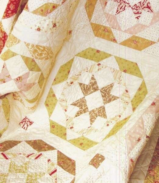 Layer Cake Quilt Pattern Book : Rosettes by Fig Tree & Co. FTQ803 Quilt Pattern is Layer ...
