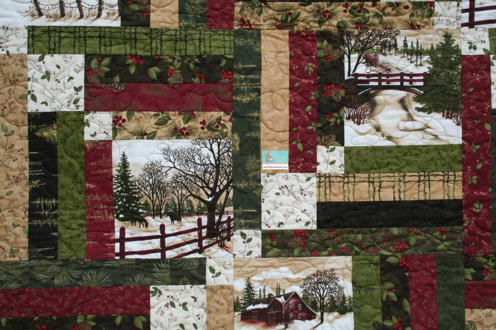 Through The Winter Woods Quilt Kit