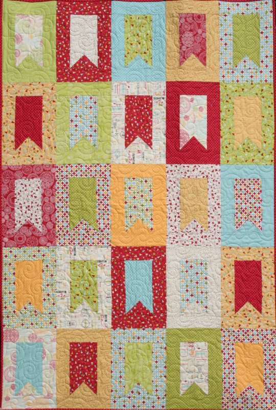 Wishes quilt kit featuring moda fabrics - Quilt rits ...