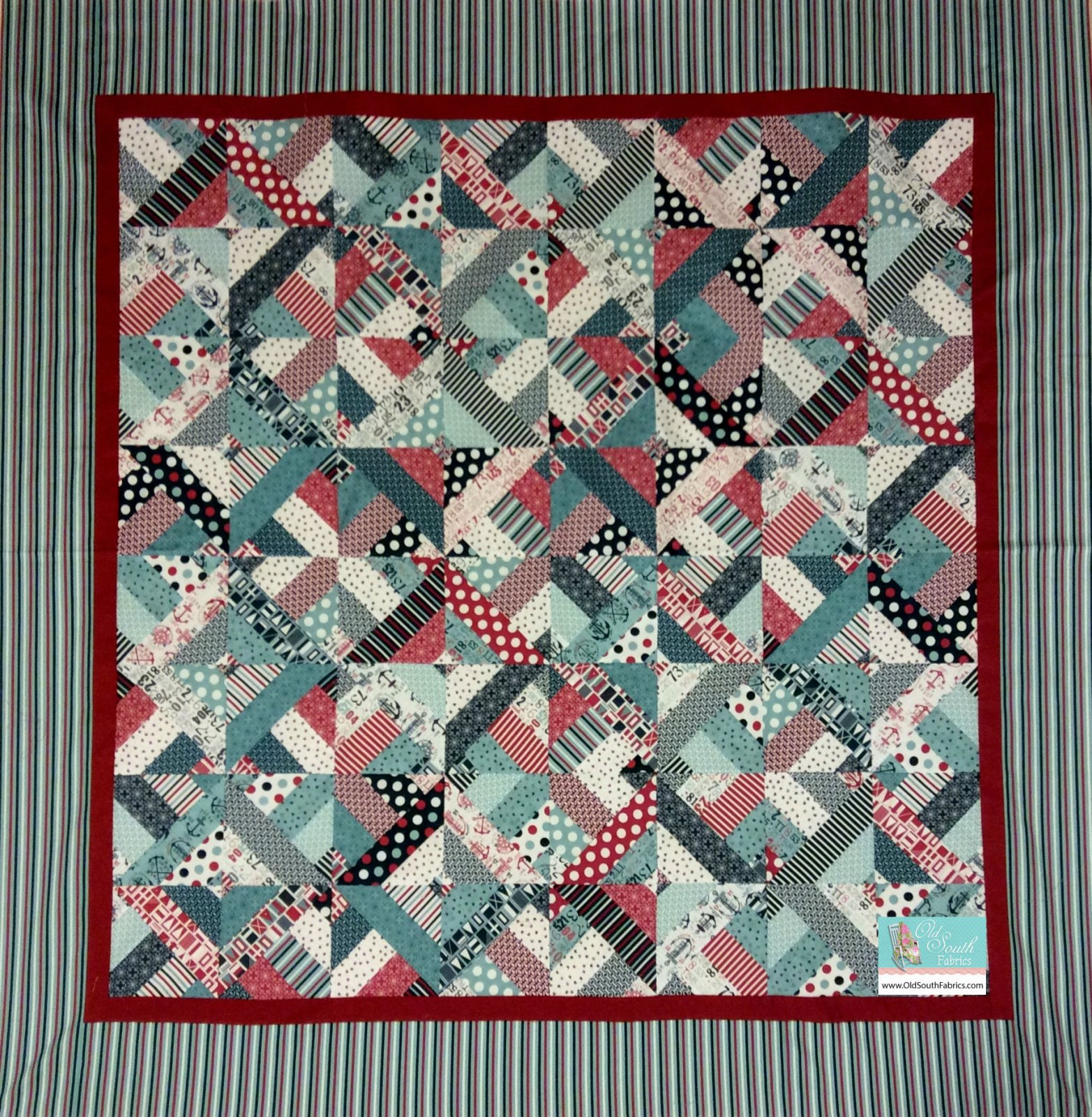 The Boat House Quilt Kit By Sweetwater For Moda