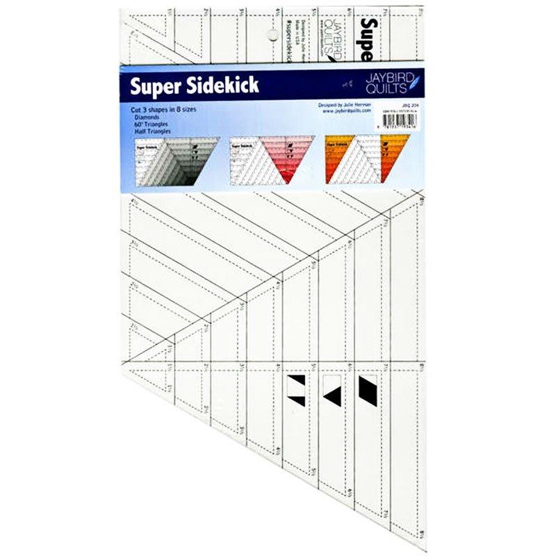Super Sidekick Ruler By Jaybird Quilts Jbq204