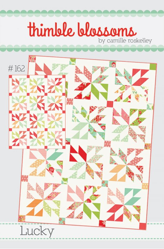 Lucky Quilt Pattern By Thimble Blossoms Charm Pack Or