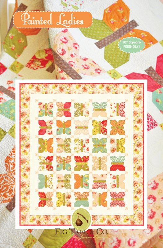 Painted Ladies - Quilt Pattern - by Fig Tree & Co. FTQ968