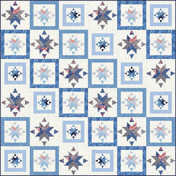 Bloomsbury Quilt Kit by Franny & Jane for Moda KIT47510