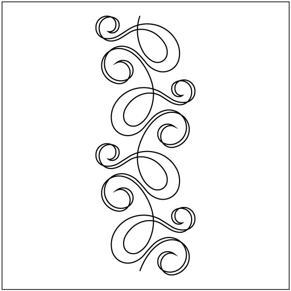 Overall Quilting Stencils : Quilting Design Stencils