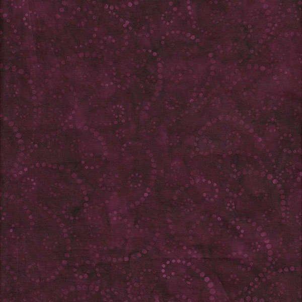 Swirls Dark Berry 106 Discontinued Batik Wide Back Quilt Fabric ... : discontinued quilt fabric - Adamdwight.com