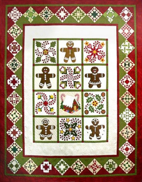 Sue Garman - The Quilted Gingerbread
