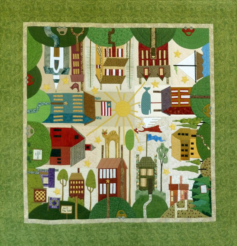 All Around the Town - Full Pattern Set