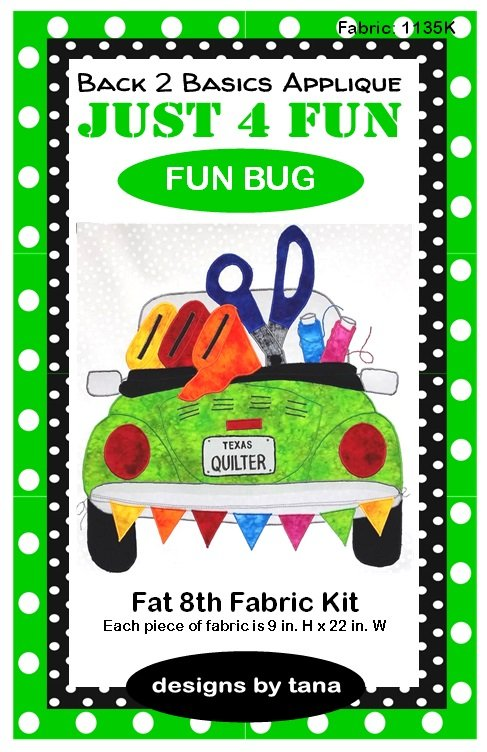 Fun Bug Skinny Fabric Kit