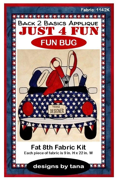 American Honor Fun Bug F8 Fabric Kit