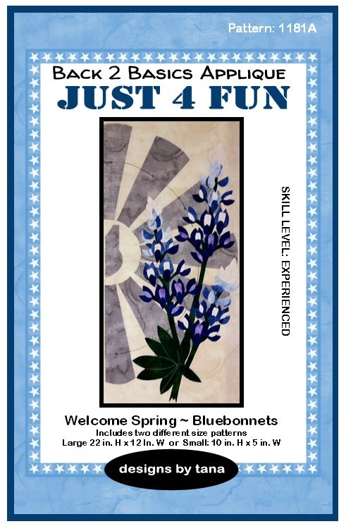 1181A Welcome Spring ~ Bluebonnets