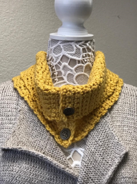Crocheted Cowel