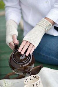 Welted Fingerless Gloves