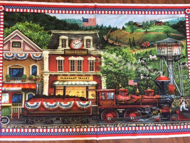 Sweet Land of Liberty panel