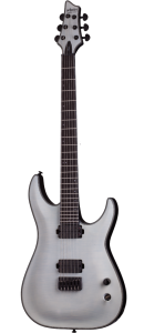 Schecter KM-7 in Trans White Satin