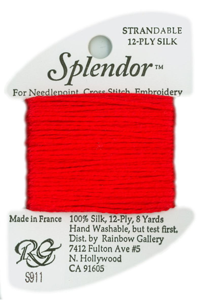 S0911 Christmas Red