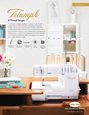 New Triumph Serger