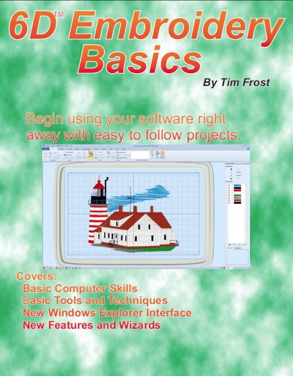 D embroidery basics