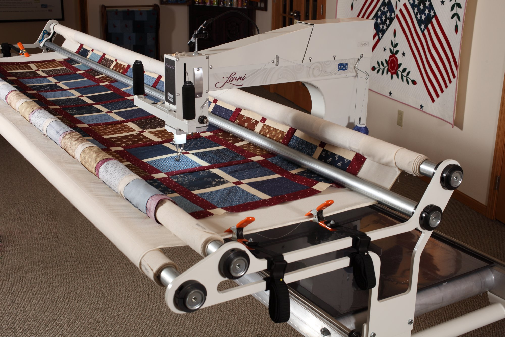 apqs quilting machine