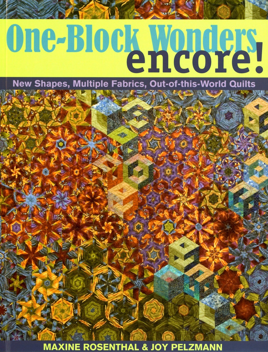 One Block Wonders Encore!  New Shapes, Multiple Fabrics, Out-of-this-World Quilts - 10579
