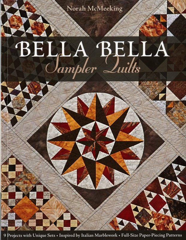 Bella Bella Sampler Quilts book - 10892