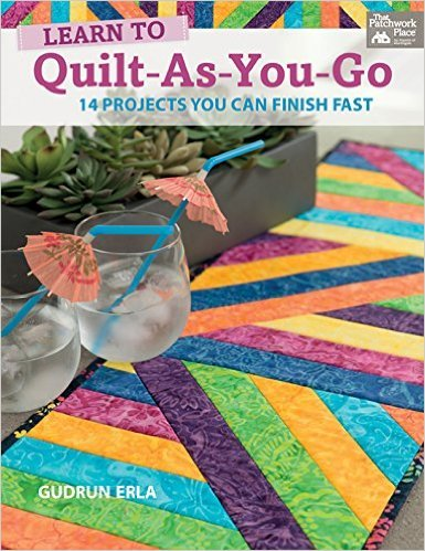 Learn to Quilt-As-You-Go - B1281