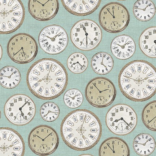 Teal Clocks  - TP-1442-B