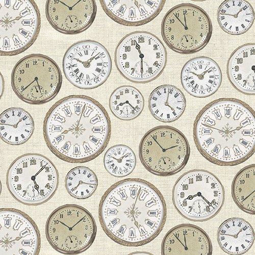 Cream Clocks  - TP-1442-Q