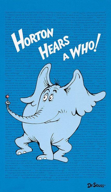 Horton Hears a Who Panel - ADE-15380-4 (1530-4)