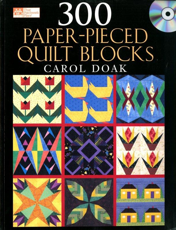 300 Paper-Pieced Quilt Blocks - B642T