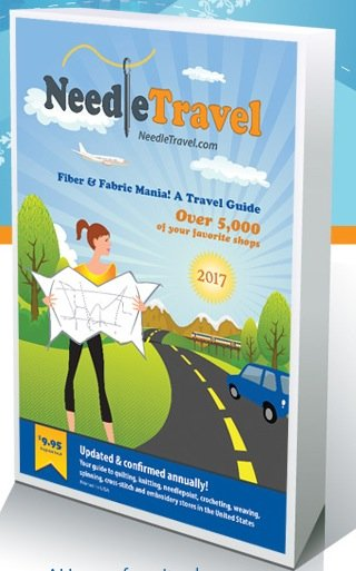 Fiber and Fabric Mania: A 2017 Travel Guide by Needle Travel - TG17