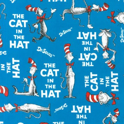 Cat in the Hat Blue - ADE-10796-203