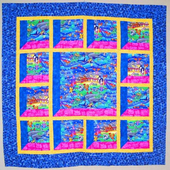Attic Window Quilt Pattern - DIGITAL DOWNLOAD - AWPd