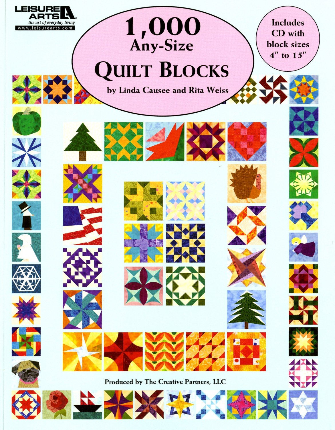 1,000 Any Size Quilt Blocks - LA5593