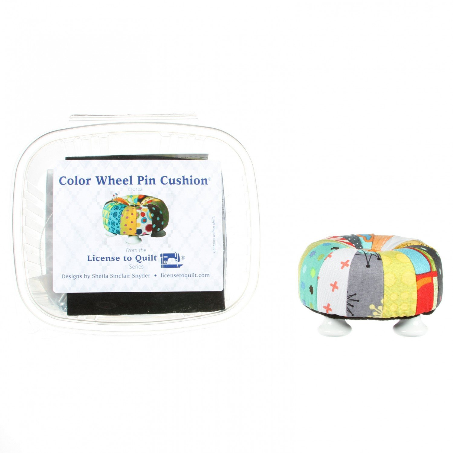 Color Wheel Tuffet Pin Cushion Kit - LTQ102 - MAY BE RESTOCKED UPON REQUEST