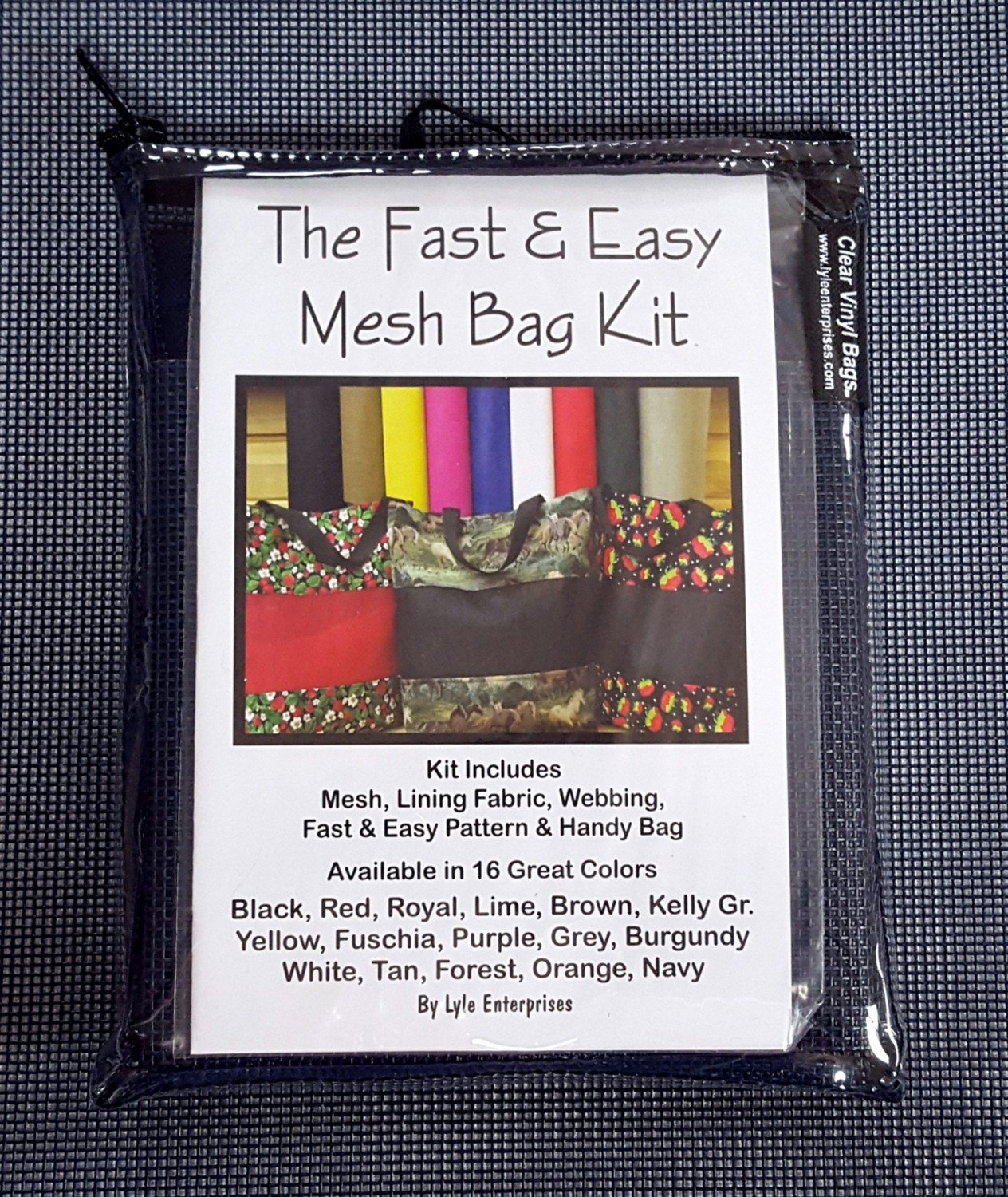 Navy Mesh Bag Kit - MBK-13 - MAY BE RESTOCKED UPON REQUEST
