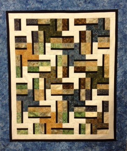 Brownstone Quilt Kit - BK-002 - MAY BE RESTOCKED IN SIMILAR COLORWAY UPON REQUEST