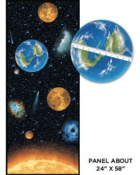 I want my space 3382 99 planets panel 30 off for Space fabric panel