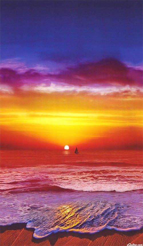 California Dreaming N4244-151-Sunset panel