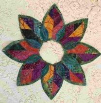 Fold n' Stitch Wreath
