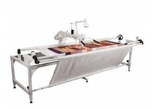 Artistic Longarm Quilter with Frame