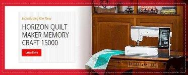 Horizon Quilt Maker Memory Craft 15000