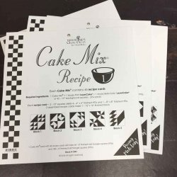 Moda cake mix recipe by Miss Rosies Quilt Co
