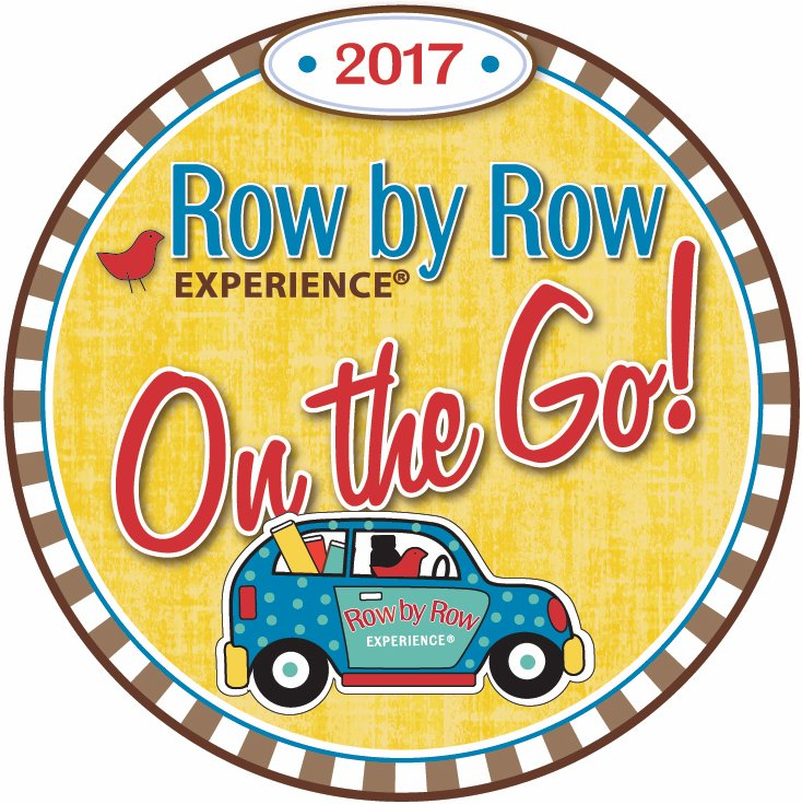Row by Row Experience 2017 On the Go