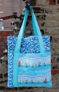 Free Row by Row Experience Tote Pattern