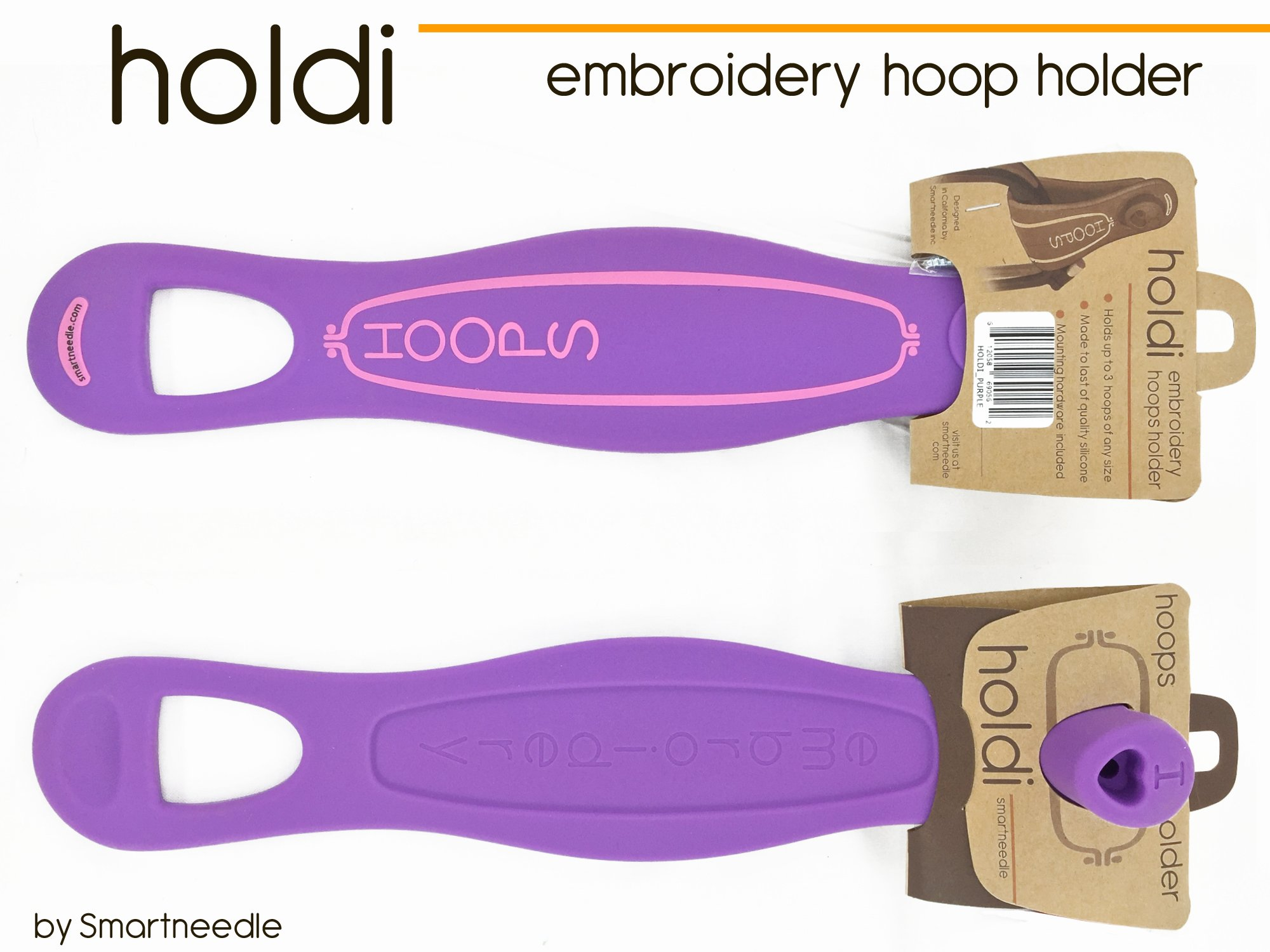 Holdi embroidery hoop holder