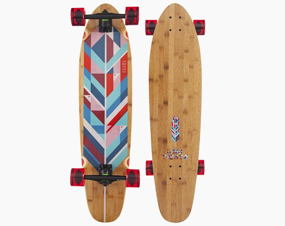 LANDYACHTZ BAMBOO RIPPER GEO FEATHER COMP