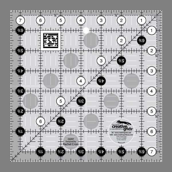 Creative Grids Quilting Ruler 7 1 2in Square Cgr7
