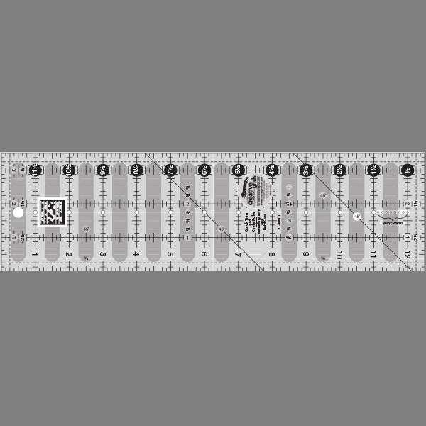 Creative Grids Quick Trim Ruler 3 1 2in X 12 1 2in